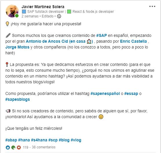 Comunidad SAP en español